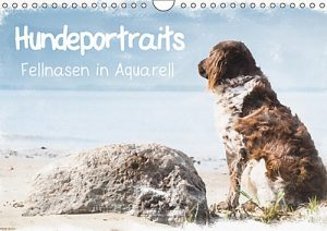 Hundeportraits-Fellnasen in Aquarell